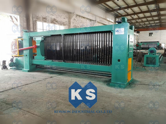 1.8mm Fencing Gabion Mesh Machine Line With Wire Tension Device