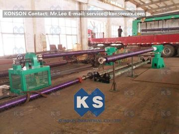 Double Twist Gabion Machine / Gabion Production Line With Automatic Oil System