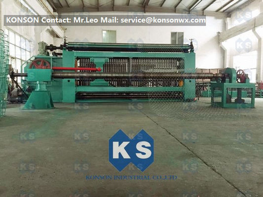 PLC Automatic 19kw Gabion Box Machine